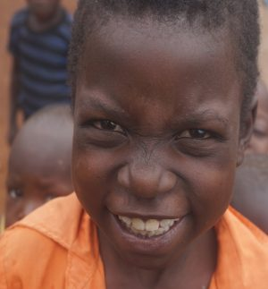 Orphan in Uganda supported by our future project