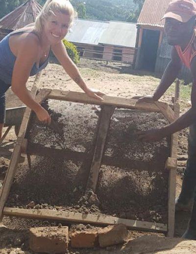 Building schools in Africa