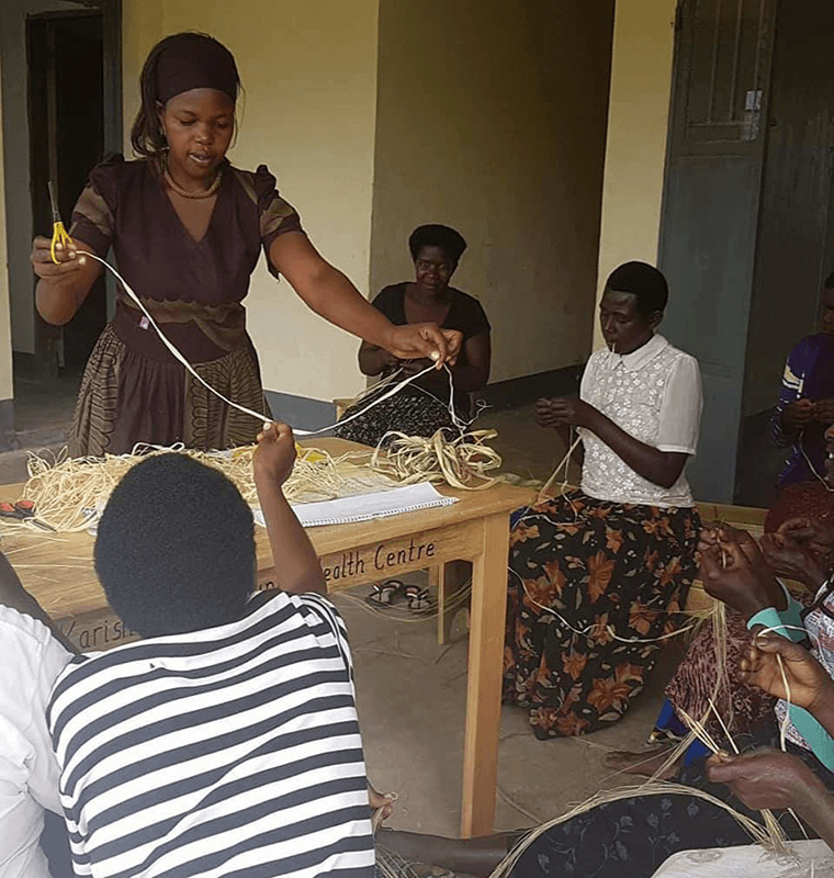 Training women in Africa vital life skills when you donate to be the change