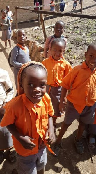 Supporting school children in uganda charity